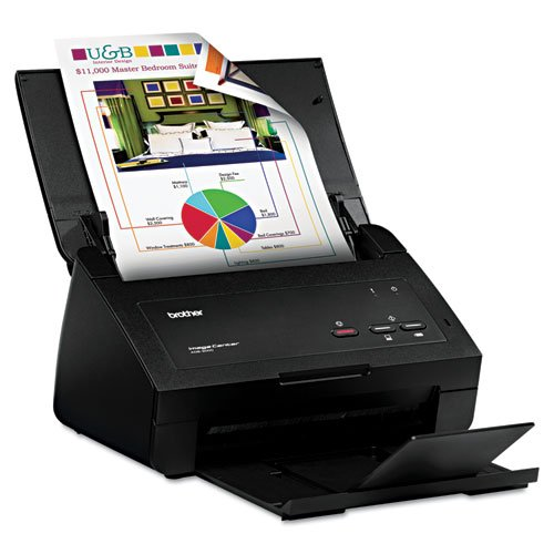 Read About BRTADS2000 - Brother ImageCenter ADS-2000 Sheetfed Scanner - 600 dpi Optical