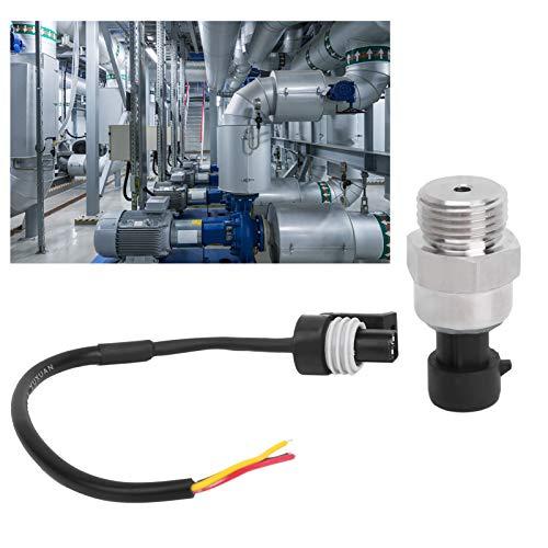 Sensor de presión, sensor de transductor de presión de agua/aire/aceite, pequeña bomba de agua de frecuencia variable DC12V, uso profesional para aire acondicionado de automóvil