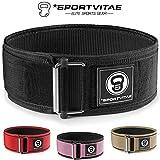 Sportvitae - Cintura da Palestra per Sollevamento Pesi - Crossfit, Powerlifting -...