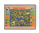 Map of Dragon Warrior | Retro NES Video Game Art Print (8x10)