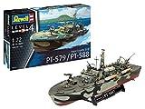 Revell RV05165 1:72 - Patrol Torpedo Boat PT-588/PT-57 Plastic Model kit