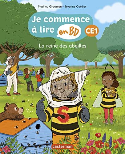 Je commence à lire en BD - CE1 : La reine des abeilles