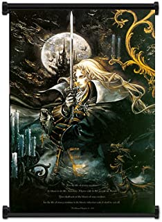 Wall Scrolls Castlevania Symphony of The Night Game Fabric Poster (31