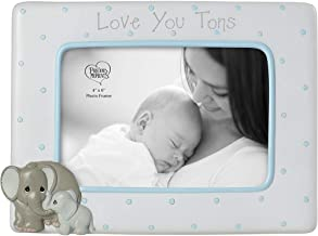 Precious Moments Elephant Love at First Sight Ultrasound 4 x 6 Resin & Glass 183407 PHOTO FRAME, One Size, Multi