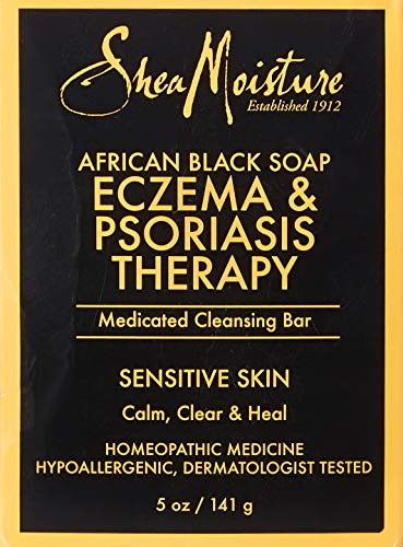 SheaMoisture's African Black Soap Eczema & Psoriasis Therapy | 5 oz