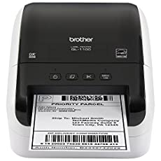 Image of Brother QL 1100 Wide. Brand catalog list of Brother. This item is rated with a 5.0 scores over 5