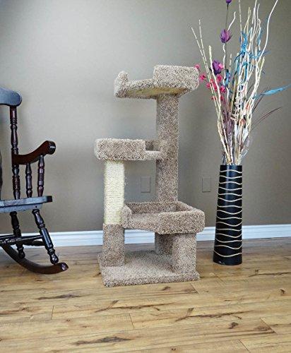 New Cat Condos 110111 Cat Tree, Brown
