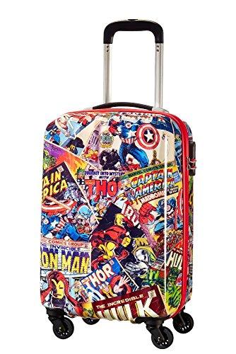 American Tourister Marvel Legends - Spinner 55/20 Alfatwist 2.0 Valigia per bambini, 55 cm, 36 liters, Multicolore (Marvel Comics)