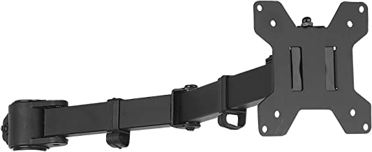 WALI Universal Single Fully Adjustable Arm for WALI Monitor Mounting System (001ARM), Black