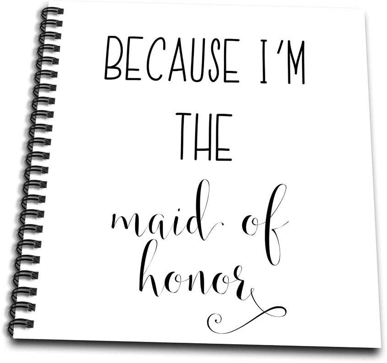 3dpink Best Friend Gift  Maid of Honor Proposal Wirebound Notebook (db_264054_2)