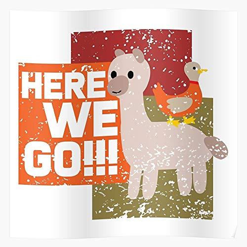 Fun Feed Witty Horse Funny Animals Ride Ideas Stupid Riding Regalo para la decoración del hogar Wall Art Print Poster 11.7 x 16.5 inch