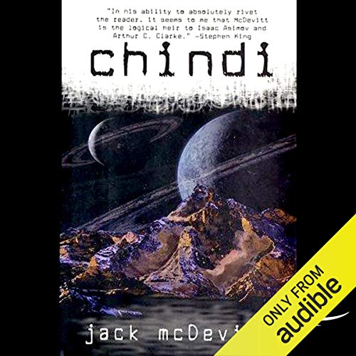 Chindi audiobook cover art