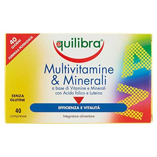 Equilibra Multivitamine e Minerali - 40 Compresse