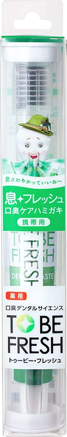モナリザ書士リーストゥービーフレッシュ トラベルセット 薬用 デンタルペースト フレッシュミント 20g+歯ブラシ1本