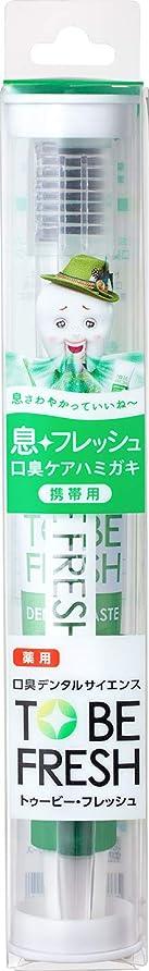 クレア光文芸トゥービーフレッシュ トラベルセット 薬用 デンタルペースト フレッシュミント 15g+歯ブラシ1本