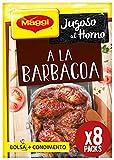 Maggi - Jugoso al Horno a La Barbacoa - 30 g - [Pack de 8]