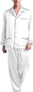 Silk Pajamas Set for Men Pure Silk Trim Men's Clothing