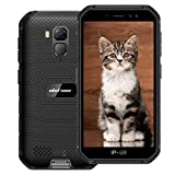 ulefone armor x7 (2020) 4g rugged smartphone, mtk6763 octa-core 2gb + 16gb, telefono resistente ip68 impermeabile android 10.0, dual sim, batteria 4000mah, nfc gps nero