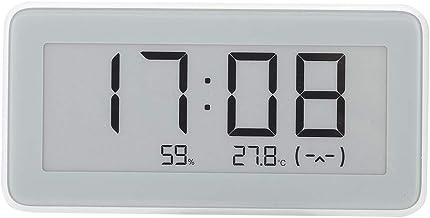 Sutinna Termómetro higrómetro Digital, Sensor de Temperatura y Humedad de Alta precisión Medidor de medición en Tiempo Real Medidor de Humedad con Pantalla Grande para Xiaomi Pro