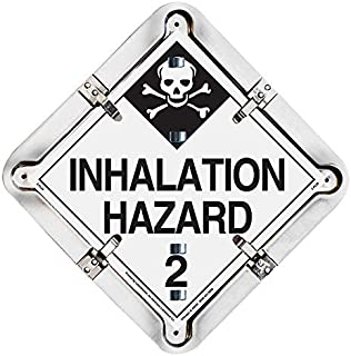 Labelmaster 27HM206 17 Legend Hazmat Flip Placard System for Trailers - Full Frame