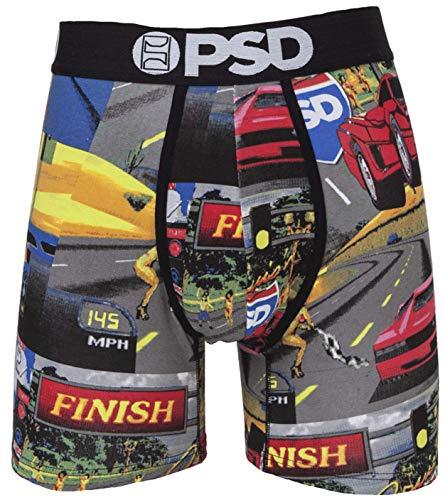 PSD Underwear Herren Boxershorts,Rot,S