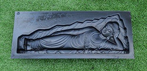 Buddha-Form aus Kunststoff und Gipsform, zum Basteln, buddhistische Statuen, schlafender Buddha D18