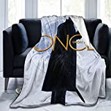Captain Hook Killian Jones - Once Upon A Time Racerback Top Fleece Blanket Ultra-Soft Micro Light Weight Warm Bed Throw Blanket Couch 80' X60'