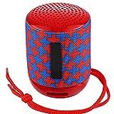 ZDY Kleine Lautsprecher tragbare Bluetooth-Lautsprecher Mini Wireless Soundbar Subwoofer Unterstützungs-USB-TF-Karten-FM Caixa De Som Altavoces,Red 2