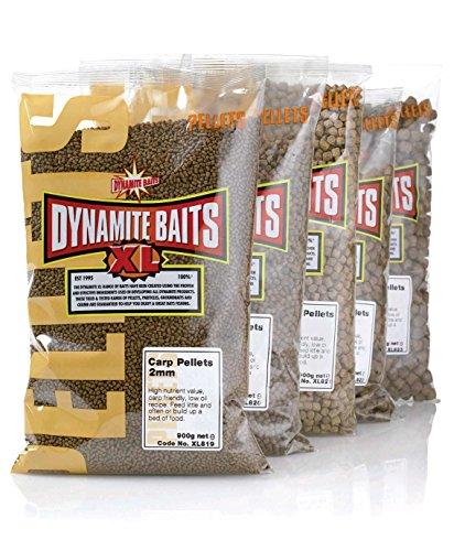 Dynamite Baits, Karpfenpellets, Köder für Karpfenangeln, 8 mm