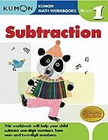 Kumon Math Subtraction: Grade 1 (Kumon Math Workbooks)