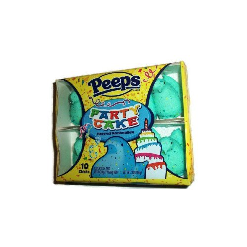 Marshmallow Peeps Party Cake Chicks 10ct