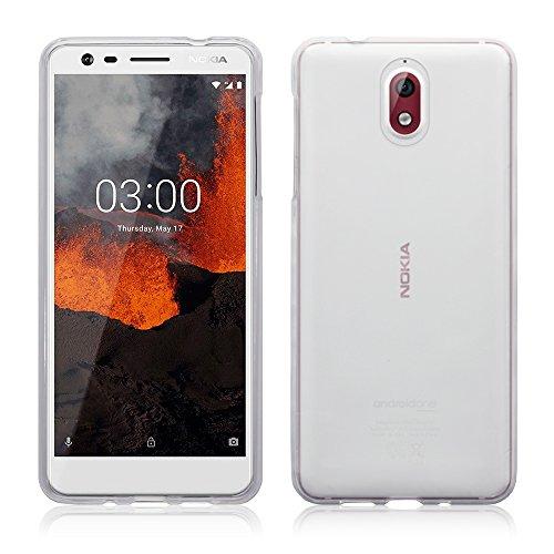 TERRAPIN, Kompatibel mit Nokia 3.1 Hülle, TPU Schutzhülle Tasche Hülle Cover - Transparent