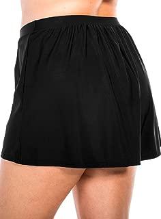 Miraclesuit Women's Swimwear Plus Size Tummy Control High Waistline Swim Shorts Bathing Suit Bottom
