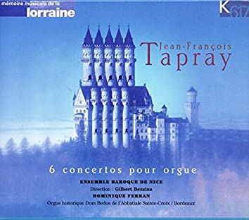 Tapray: 6 Keyboard Concertos, Op. 1