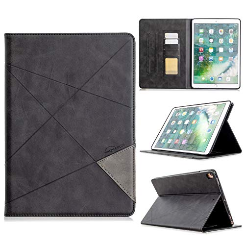 YANGJIE Tab Case Vertical Prismatic Tablet Case Suitable for IPAD PRO 10.2 10.5 2017/2019 Case. Advanced PU Leather Case With Automatic Wake-up/sleep Function [with Card Slot] Tablet Back Cover