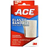 ACE Elastic Bandage with Hook Closure 3 Inch 1 ea (Pack of 4)