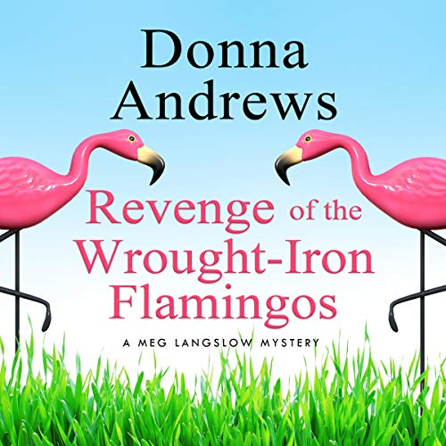Couverture de Revenge of the Wrought-Iron Flamingos