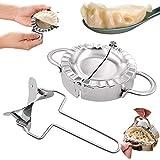 Molde Para Empanadillas,Molde de bola de masa de acero inoxidable, Manual Pinch Dumpling Pie Ravioli...