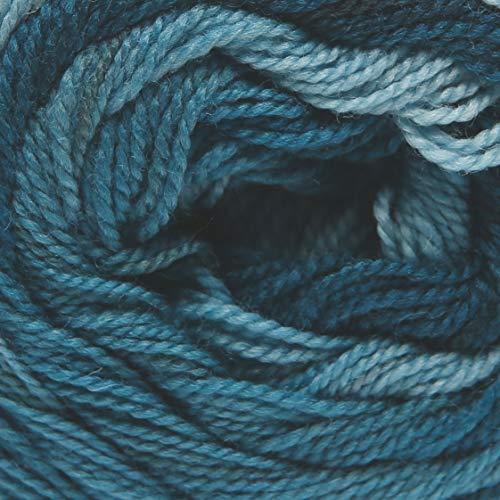 ggh Merinella, Farbe:010 - Petrol Dégradé, 100% Merinowolle (Superwash und Mulesing Free), 100g Wolle mit Farbverlauf