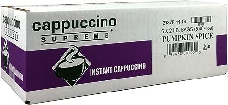 Best pumpkin spice cappuccino mix Reviews
