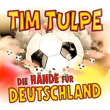 Die Hände für Deutschland