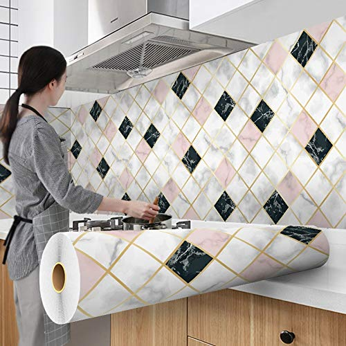 sjzwt 300 cm Fondos de Pantalla Recubrimiento de Aluminio Impermeable Moderno Sala de Estar Muebles de Escritorio Vinilo Auto Adhesivo Contacto Papel Decoración para el hogar