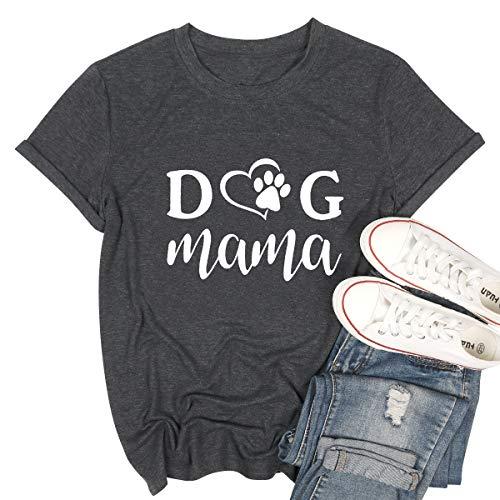 (40% OFF Coupon) Dog Mom T-Shirts $12.27