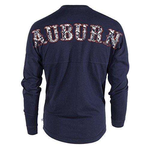 Official NCAA Auburn University Tigers Aubie Tiger WAR EAGLE! Women's Long Sleeve Spirit Wear Jersey T-Shirt
