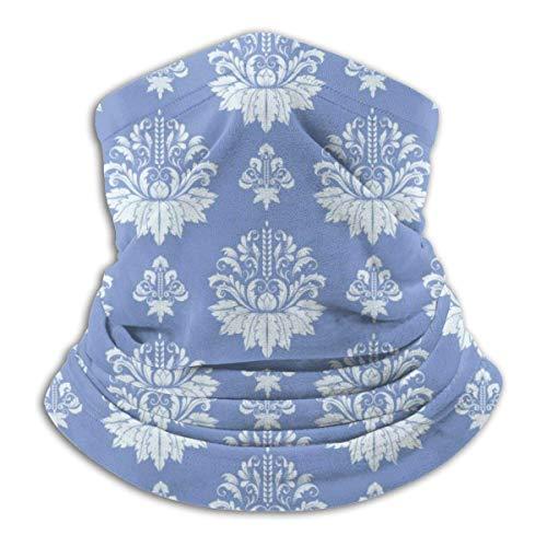 Calentador de Cuello Flores Preciosas Tela Calentador de Cuello Pasamontañas a Prueba de Viento Capucha de Lana Sombreros de Invierno UV Gratis