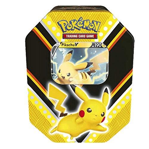MINT Pokemon V Power Tin Featuring Pikachu V