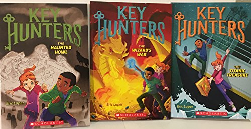 Key Hunters Series Set (Books 3-5): The Haunted Howl, The Wizard's War and The Titanic Treasure