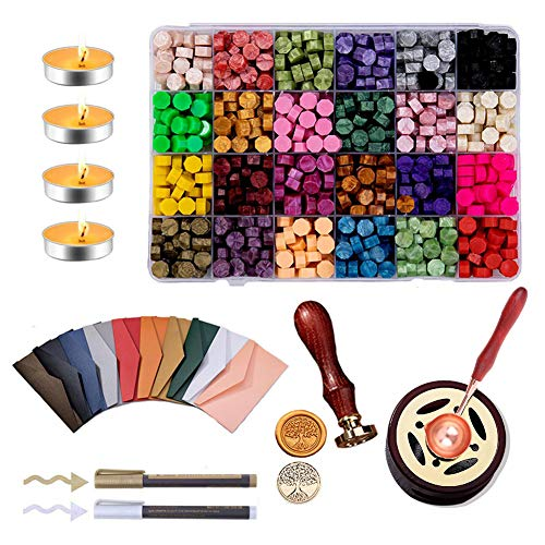 Sealing Wax Kit Wax Letter Seal Kit Arts Crafts Lacquer Wax Fire Lacquer Wax Seal