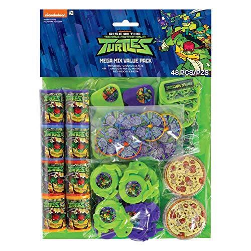 amscan 3900693 Mitgebsel-Set Ninja Turtles
