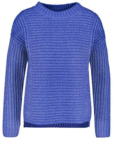 Gerry Weber Damen Grob Gestrickter Pullover Figurumspielend Electric Blue 42